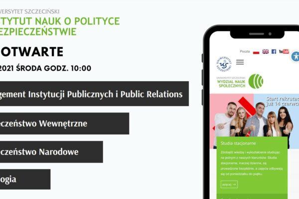 DzieńOtwarty Instytutu Nauk o Polityce i Bezpieczeństwie